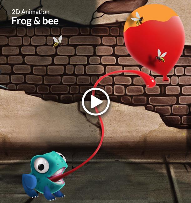 Frog & Bee