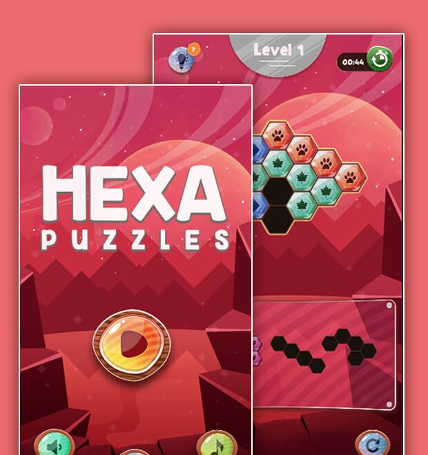 Hexa puzzel