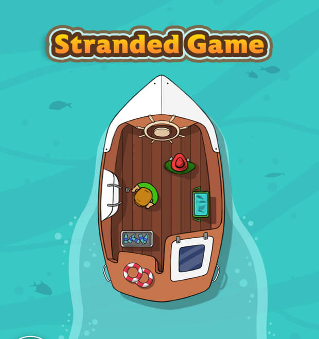 stranded game concept art