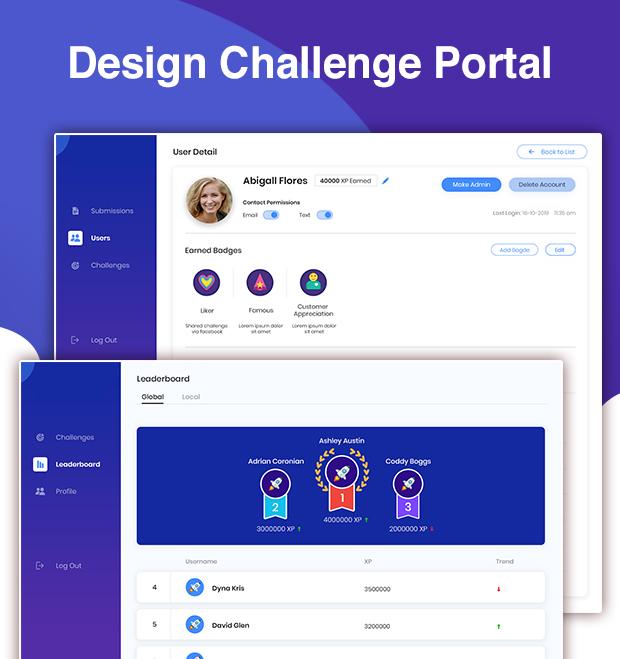 Design Challenge Portal